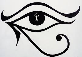 eye of horus by ladydracoviolet on deviantart