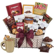 gift basket coffee chocolates gift basket classic by gourmetgiftbaskets