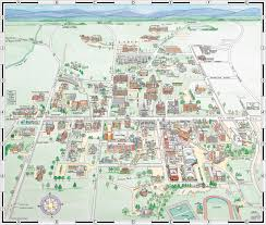 Western Washington University Campus Map by Williams College Campus Map Pioneer Valley The Berkshires