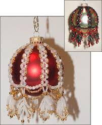 296 best christmas ornament covers images on pinterest beaded