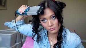 how i wave my hair using bed head u0027s wave artist youtube