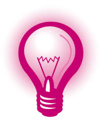 light bulb clipart pink pencil and in color light bulb clipart pink
