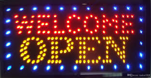 open welcome led neon sign 23 62 x13 now brighter and bigger