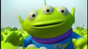 toy story 2 aliens coming