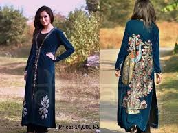 dhaani women winter dresses latest collection 2012 13 with price