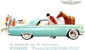 ford thunderbird paint charts and color codes