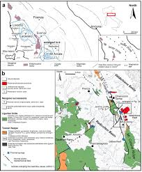 Map Of Central Italy by Tectonic Control On Travertine And Calcareous Tufa Deposition In A