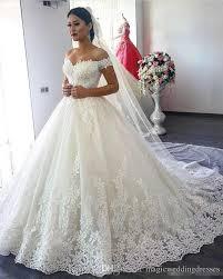 lace wedding dresses cheap saudi arabia gown lace wedding dresses the shoulder