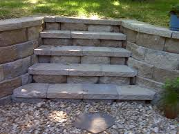 Terraced Retaining Wall Ideas by Retaining Wall Anchor Diamond Pro Block Retaining Wall After 1