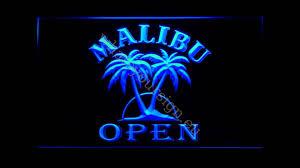 malibu led neon light sign display youtube