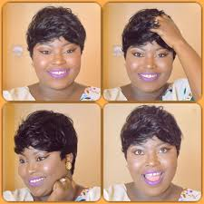 27 pieces quick weave tutorial pixie cut short hair wig how to