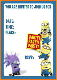 diy minion invitations minion birthday party invites minion birthday party invitations