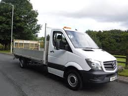 mercedes commercial 2014 mercedes sprinter 313cdi 13ft6 alloy dropside with tail lift
