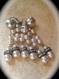 Vintage Pearl Chandelier Earrings 1389 Best Fantastic Vintage Earrings Images On Pinterest Vintage