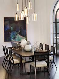 Hanging Pendant Lights Over Dining Table by Stunning Pendant Lighting For Dining Room Dining Room Pendant