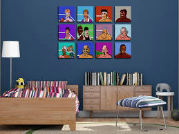 unique 80s throwback mike tysons punch out nintendo wall art