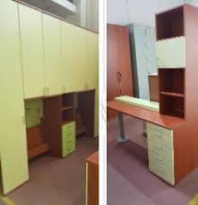 mensole color ciliegio scrivania con mensole top badroom scrivanie per camerette