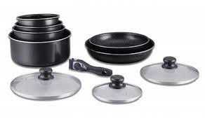 batterie cuisine induction manche amovible batterie de cuisine avec manche amovible 10 pièces noir