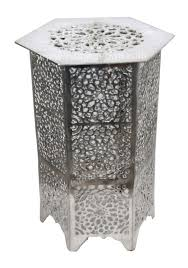round silver accent table silver accent table loris decoration