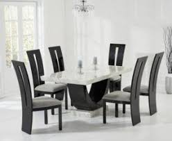 Black Pedestal Dining Table Set Foter - Black and white dining table with chairs