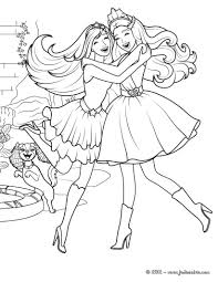 coloriage a imprimer barbie princesse
