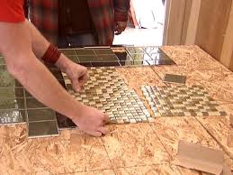 Dark Wooden Table Top Create A Mosaic Tile Tabletop Hgtv