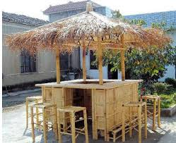 Tiki Outdoor Furniture by Tiki Hut Structures And Furniture Pieces For Homes Outdoor Bar