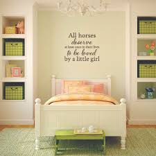 deserve to be loved wall quotes decal wallquotes com little girls room bedroom above bed wall decal