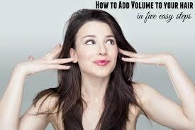 volume hair hair tutorials skip to my lou
