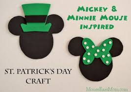 minnie mouse s day mickey and minnie mouse inspired st s day craft mouse