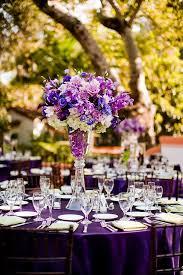 Purple Flowers Centerpieces by Top 25 Best Purple Table Settings Ideas On Pinterest Purple