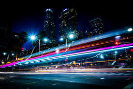 Fast Light Fast As Lightning Taken In Downtown Los Angeles Siavash