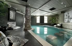 big house with indoor swimming pool interior design
