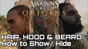hoods haircutgame updated assassin s creed origins hood hair beard how to