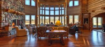 beautiful log home interiors tour this beautiful handcrafted custom log home estate