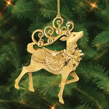the 2016 danbury mint annual gold ornament the danbury