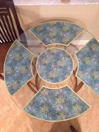 quilted placemats for round tables placemats for round table pattern the baron kitchen ideas