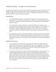 lab report conclusion template writing lab business report writing template