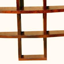 wood wall cube shelves nucleus home