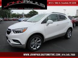 buick encore 2017 white buick encore in greenfield used buick encore 2017 greenfield