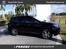 toyota rav4 2017 used toyota rav4 le fwd at royal palm toyota serving