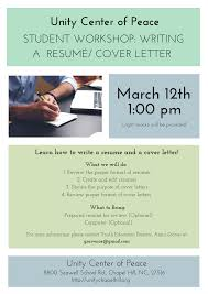 resume and cover letter help the purpose of a resume free resume example and writing download student workshop writing a resume cover letter