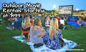 Backyard Movie Night Rental Southern Outdoor Cinema Blog Archive 199 For An Outdoor Movie