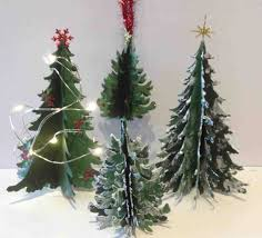 diy decorations jk how 3d christmas paper crafts to make tree diy