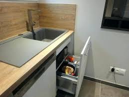 meuble de cuisine avec evier inox meuble de cuisine avec evier lovely evier inox avec plaque de