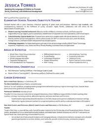 How To Write A Teaching Resume 15 Example First Year Teacher Resume Sample Resumes Sample