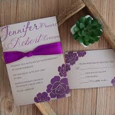 purple wedding invitations purple wedding invitations by wedding invites