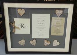 mind blowing framed wedding invitation which suitable for you