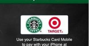 pay for starbucks with your iphone at 1 000 target stores