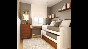 simple small bedroom arrangement ideas youtube